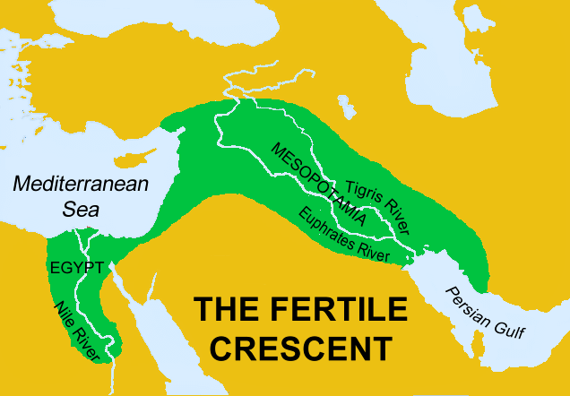 fertile crescent map today - photo #15
