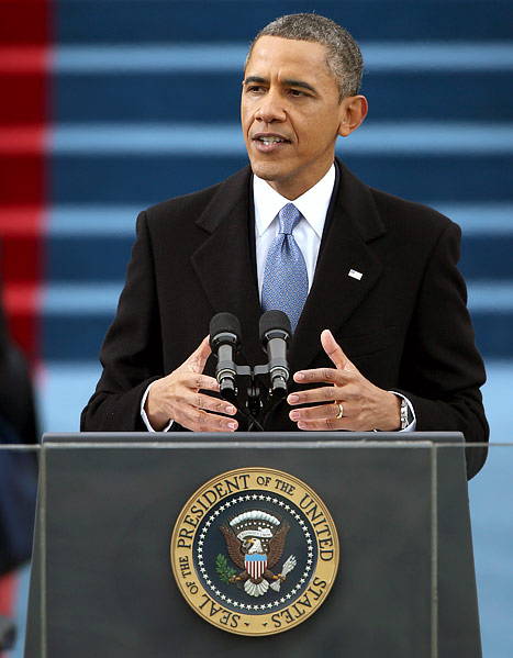 President Barack Obama's first inauguration speech: Full text