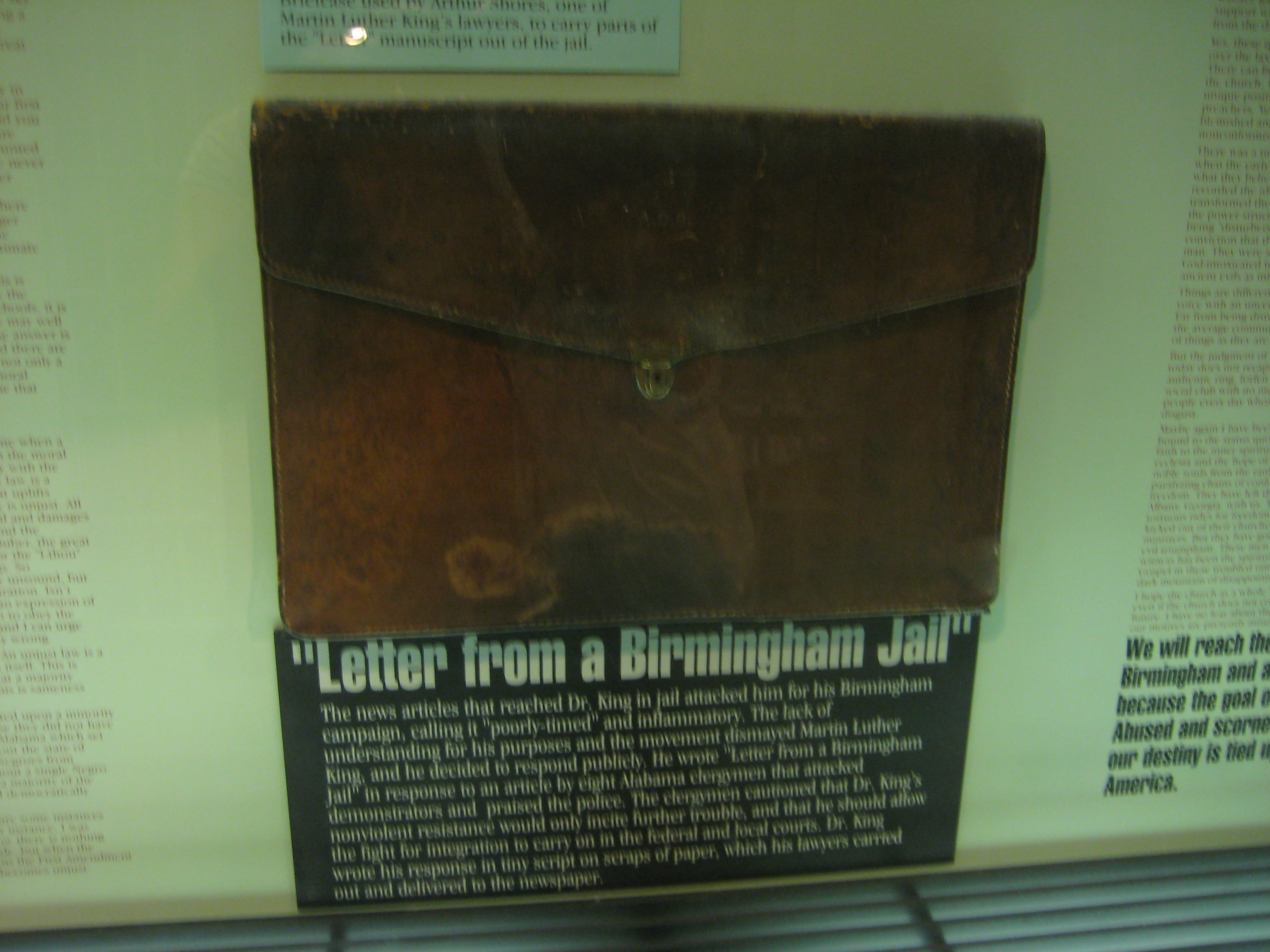 the use of pathos logos and ethos in the letter from a birmingham jail by dr martin luther king jr Martin luther king jr's letter from birmingham jail: ethos, pathos, and logos appeals martin luther king jr's letter from birmingham jail: ethos, pathos, and logos appeals.